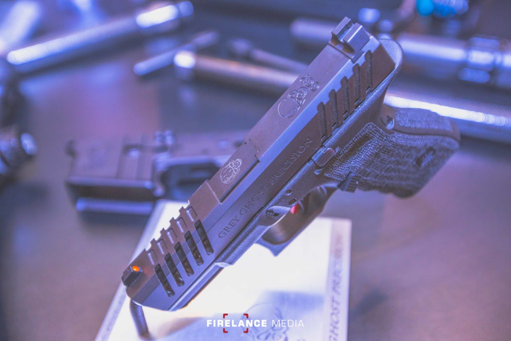I See Tiny Ghosts! New Glock 43 Slides from Grey Ghost Precision 1 - Firearms Photographer   Firelance Media