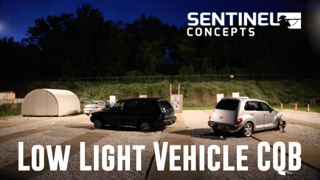 Sentinel Concepts - Low Light Vehicle CQB Trailer Video - Afterthoughts 3 - Firearms Photographer | Firelance Media