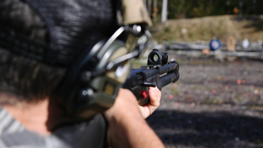 REVIEW: Aimpoint Micro S1 Shotgun Sight 1 - Firearms Photographer   Firelance Media